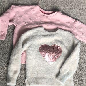 3T girl sweaters